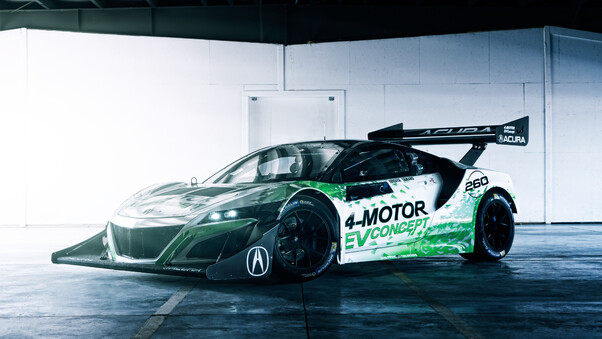 Full HD Acura Nsx Gt3 5k 2018 Wallpaper