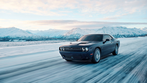 Full HD Dodge Challenger Srt 2018 Wallpaper