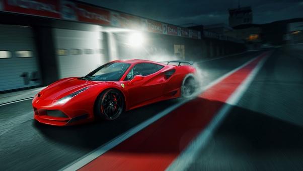 Full HD Ferrari 488 Gts Wallpaper