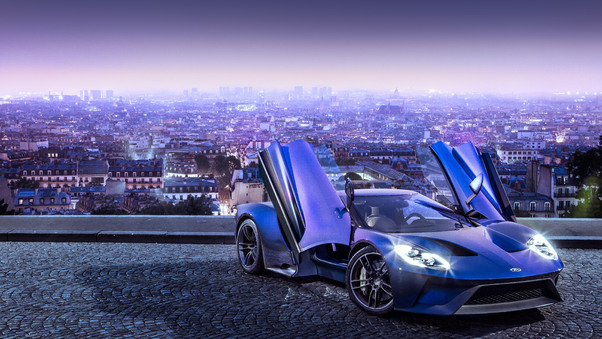 Full HD Ford Gt 66 Heritage Edition Car Wallpaper