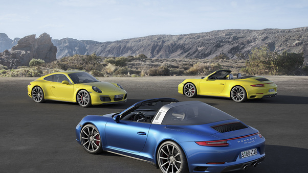 Full HD Porsche 911 5k Wallpaper
