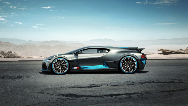Full HD Bugatti Divo Red Performance Wallpaper