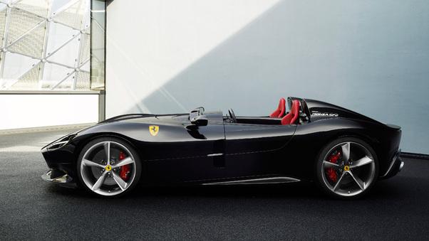 Full HD 2018 Ferrari Monza Sp2 Rear Wallpaper
