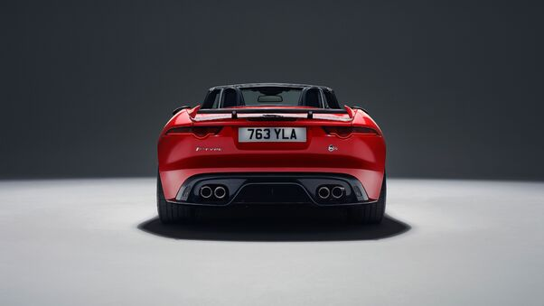 Full HD 2018 Jaguar F Type Svr Side View Wallpaper