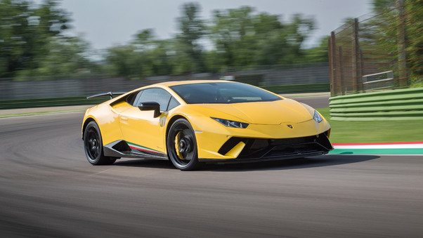 Full HD Novitec Lamborghi Huracan Perfomante 2018 Side View 4k Wallpaper