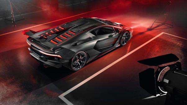 Full HD Lamborghini Sc18 2018 Front Wallpaper
