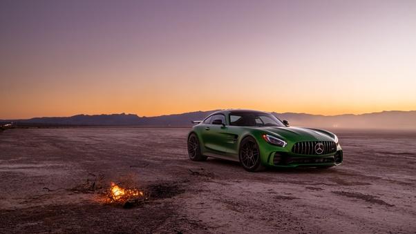 Full HD 2018 Mercedes Amg Gtr 8k Wallpaper