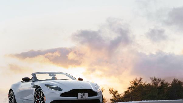 Full HD Aston Martin Db11 Amr 2018 Rear View Wallpaper