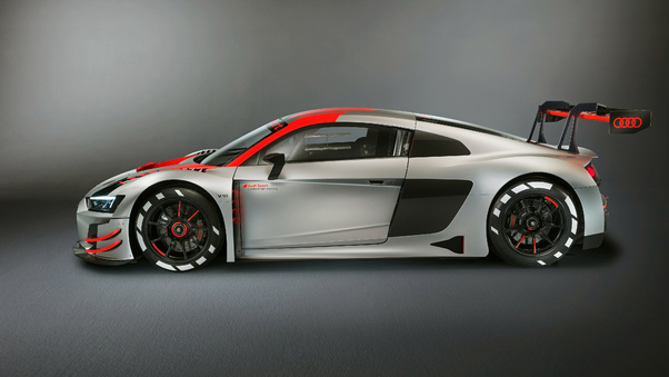 Full HD Audi R8 Lms 2019 Rear Wallpaper