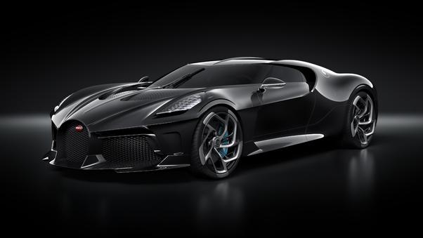 Full HD 2019 Bugatti La Voiture Noire Wallpaper