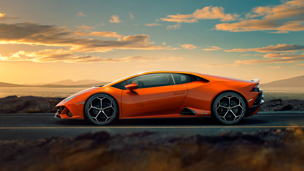 Full HD 2019 Lamborghini Huracan Evo 10k Wallpaper