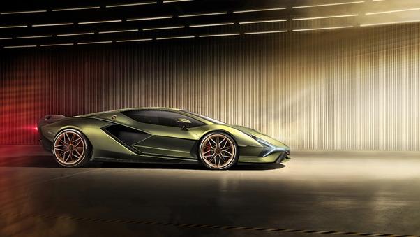 Full HD Lamborghini Sian Roadster 2020 Wallpaper