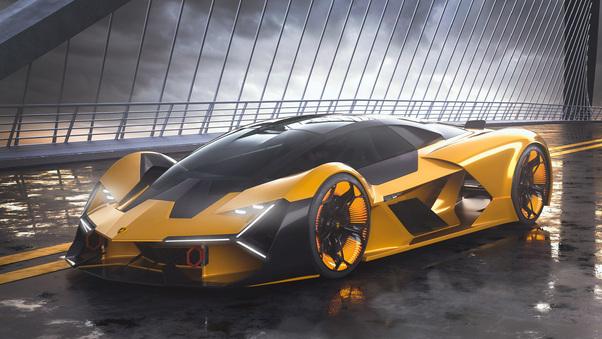 Full HD 2019 Lamborghini Terzo Millennio 4k Wallpaper