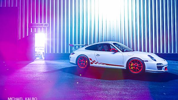 Full HD Porsche Gt3 Rs Cgi Wallpaper