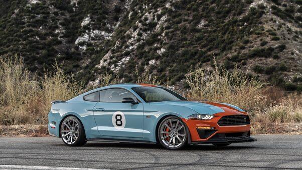 Full HD Ford Mustang Gt Convertible 2019 4k Wallpaper