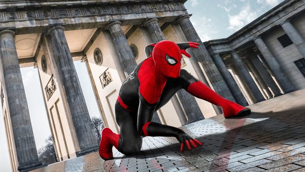 2019 Spider Man Far From Home Movie Poster Hd Movies 4k