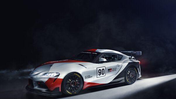 Full HD 2019 Toyota Gr Supra Gt4 Concept Wallpaper