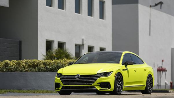 Full HD 2019 Volkswagen Arteon R Line Concept Wallpaper