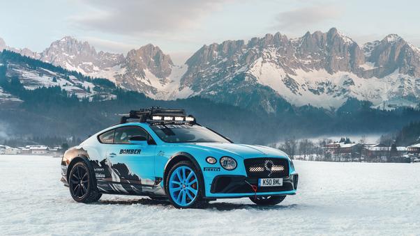 Full HD Bentley Continental Gt Pikes Peak 2021 Wallpaper