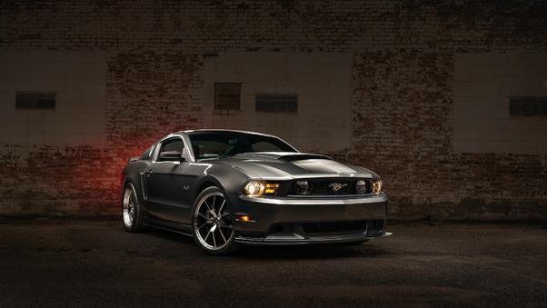 Full HD Ford Mustang Shelby Gt500 Sky Lights Wallpaper