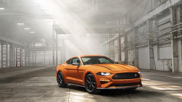 Full HD Yellow Mustang 5k Wallpaper
