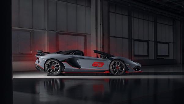 Full HD Lamborghini Aventador Svj New Wallpaper
