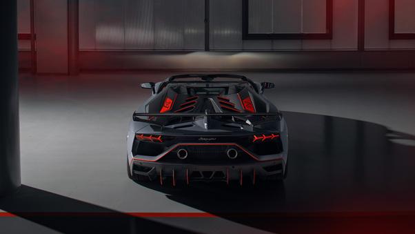 Full HD Lamborghini Aventador Svj 63 2018 4k Wallpaper