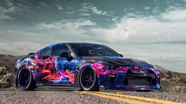 Full HD 2018 Nissan Gt R Nismo Wallpaper