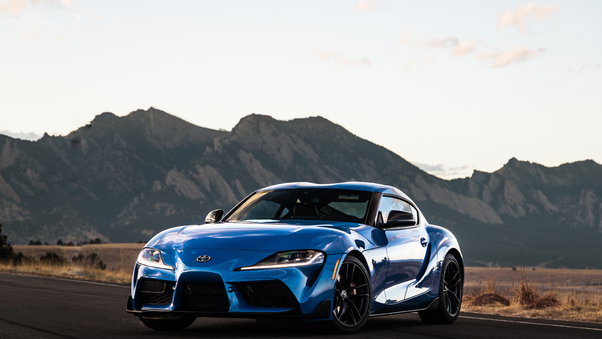Full HD Toyota Supra 2020 Car Wallpaper