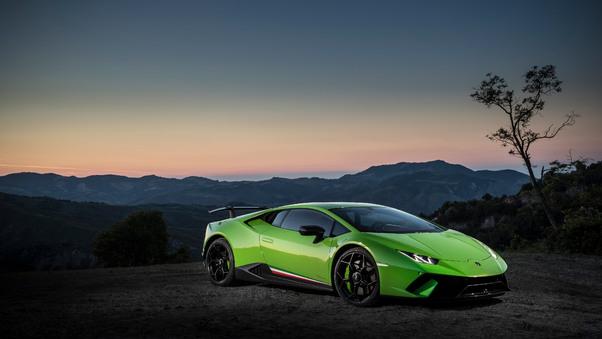 Full HD Lamborghini Huracan Performante 5k Wallpaper
