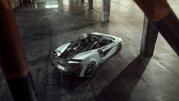 Full HD 4k Mclaren 570s Spider 2018 Wallpaper