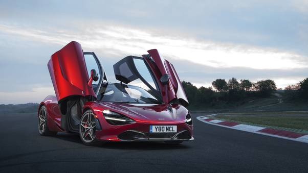 Full HD Mclaren Mso 720s Spa 68 2019 Wallpaper