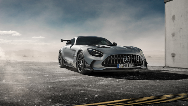 Full HD Yellow Mercedes Benz Amg Gt 5k Wallpaper