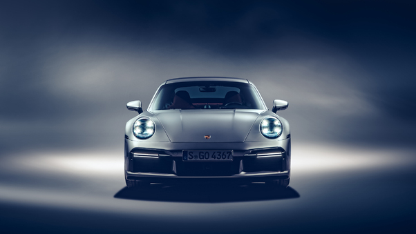 Full HD Porsche 911 Carrera Tail Light Raining Wallpaper