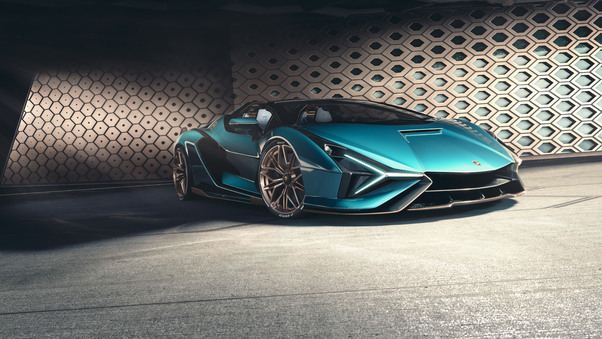 Full HD Lamborghini Sian Roadster 2020 New Wallpaper