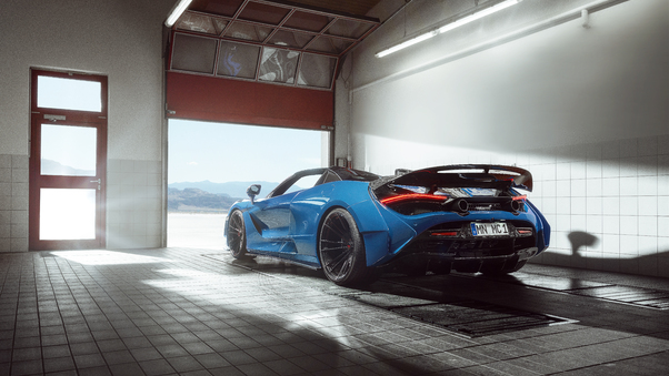 Full HD 2020 Mclaren 720s Wallpaper