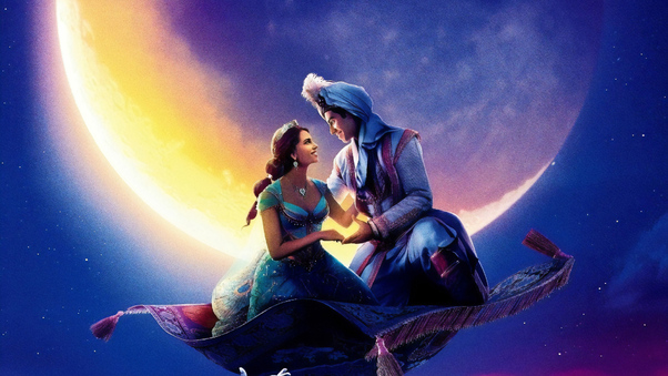 Movie Poster 2019: Aladdin 2019 Movie Poster, HD Movies, 4k Wallpapers