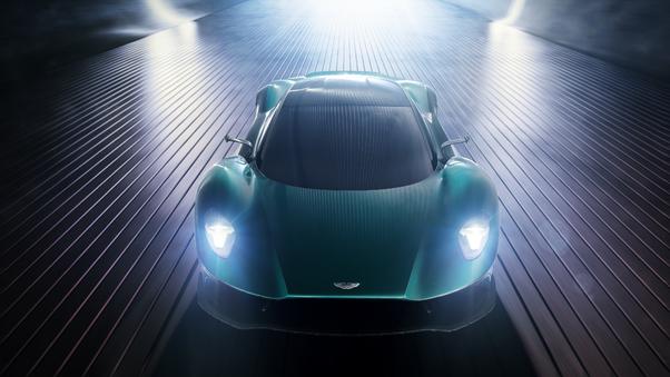 Full HD Aston Martin Vanquish Zagato Concept Car 2019 Wallpaper