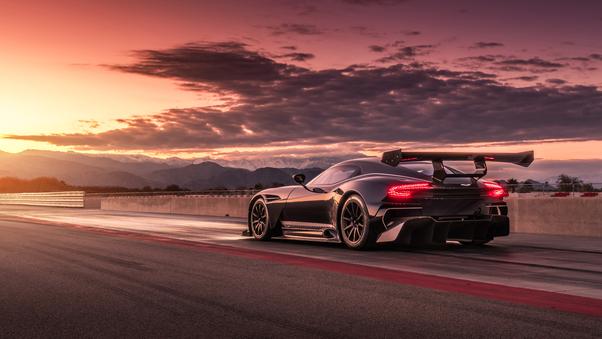 Full HD Aston Martin Vulcan Cgi Wallpaper
