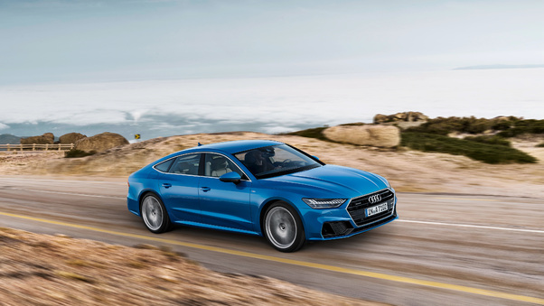 Full HD 2019 Audi A7 Sportback Wallpaper