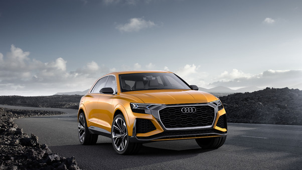 Full HD Audi Q8 2018 Wallpaper