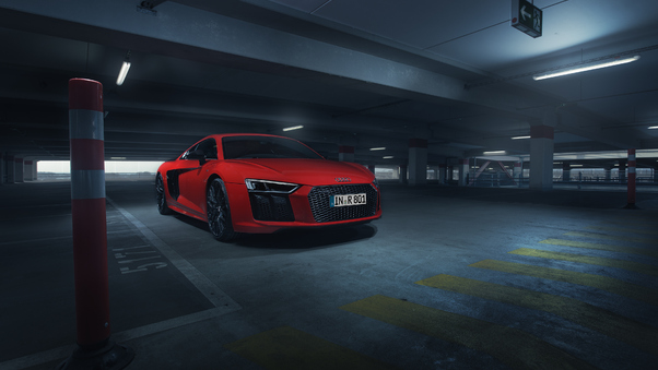 Full HD 2018 Abt Audi R8 Art Color Wallpaper