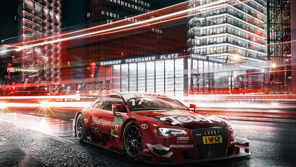 Full HD Audi Rs3 Digital Art Wallpaper