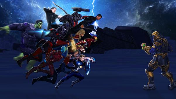 Avengers 4 Endgame Wallpapers 4k For Mobile: Avengers Endgame 4k Art, HD Superheroes, 4k Wallpapers