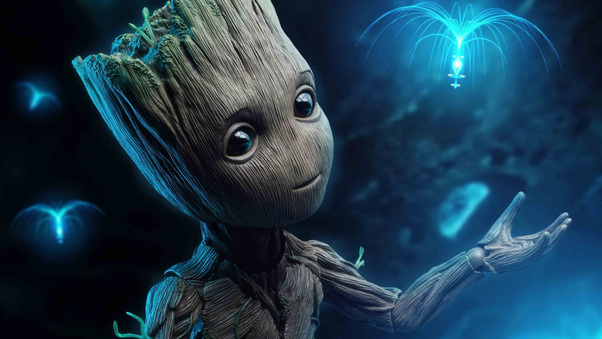 Baby Groot 4k, HD Superheroes, 4k Wallpapers, Images