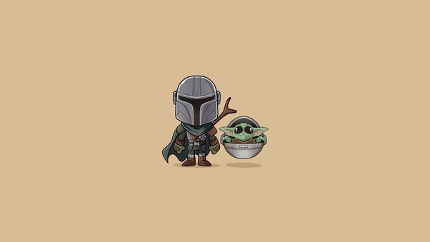 Baby Yoda The Mandalorian Minimalist Hd Tv Shows 4k Wallpapers Images Backgrounds Photos And Pictures