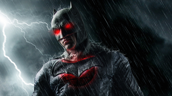 Batman Red Eye Hd Superheroes 4k Wallpapers Images