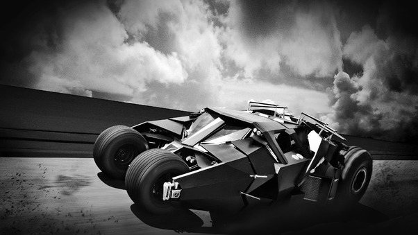 Full HD Batmobile Modified Wallpaper