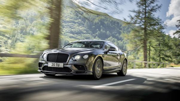 Full HD Bentley Continental Gt Supersport Wallpaper