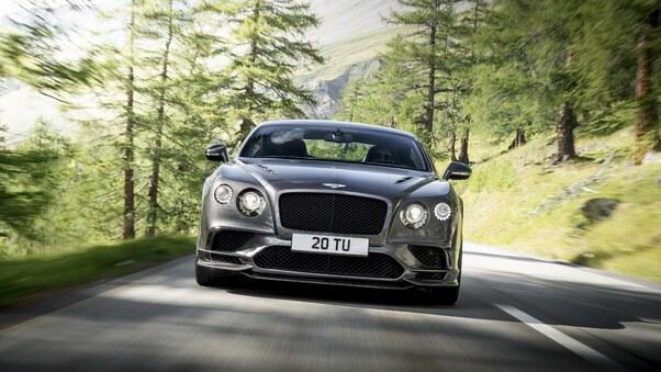 Full HD Bentley Continental Gt Supersport Front Wallpaper